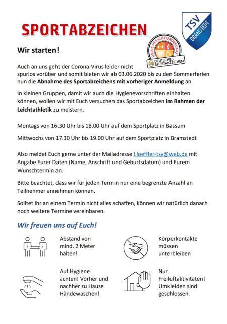 SportabzeichenCorona